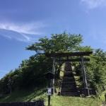 ひふみ祝詞鳥居とお山